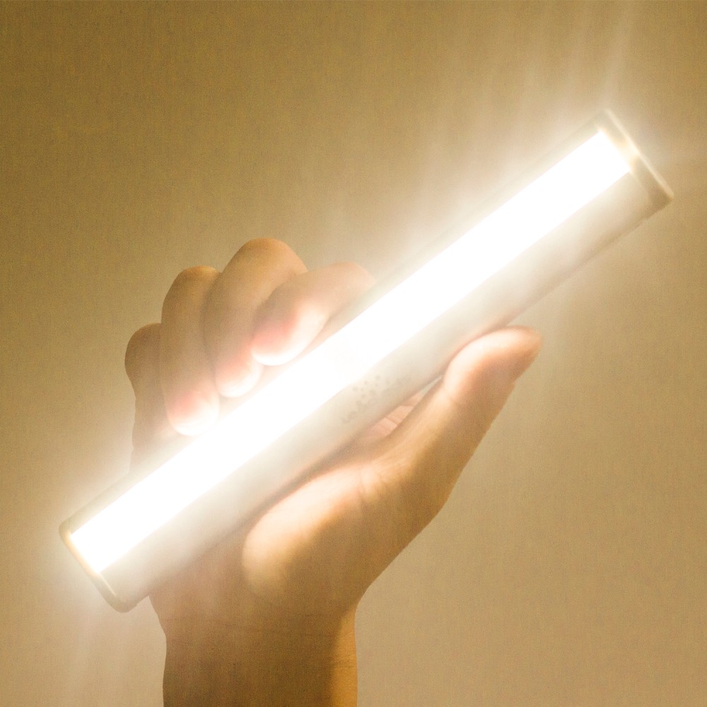 motion sensor light led indoor outdoor rechargeable magnetic under cabinet toilet kids room night light 5000k