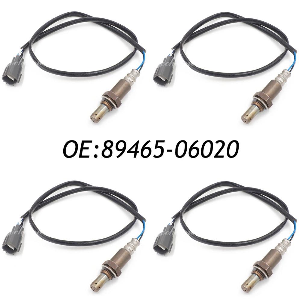 New 4pcs Oxygen Sensor Lambda Sensor 34-4137 89465-06020 8946506020 For 1997-2001 LEXUS ES300 oxygen sensor 89467 41040 for toyota avalon sienna solara camry lexus es300 lambda sensor o2 sensor