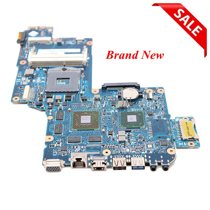 NOKOTION NOVO Laptop motherboard para Toshiba satellite C870 L870 L875 17.3 Tela HD7600M HD4000 H000046340 Mainboard