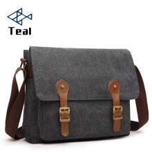 Canvas Men Messenger Bags High Quality Vintage Leisure Shoulder Bag Large Capacity Fashion Man Male