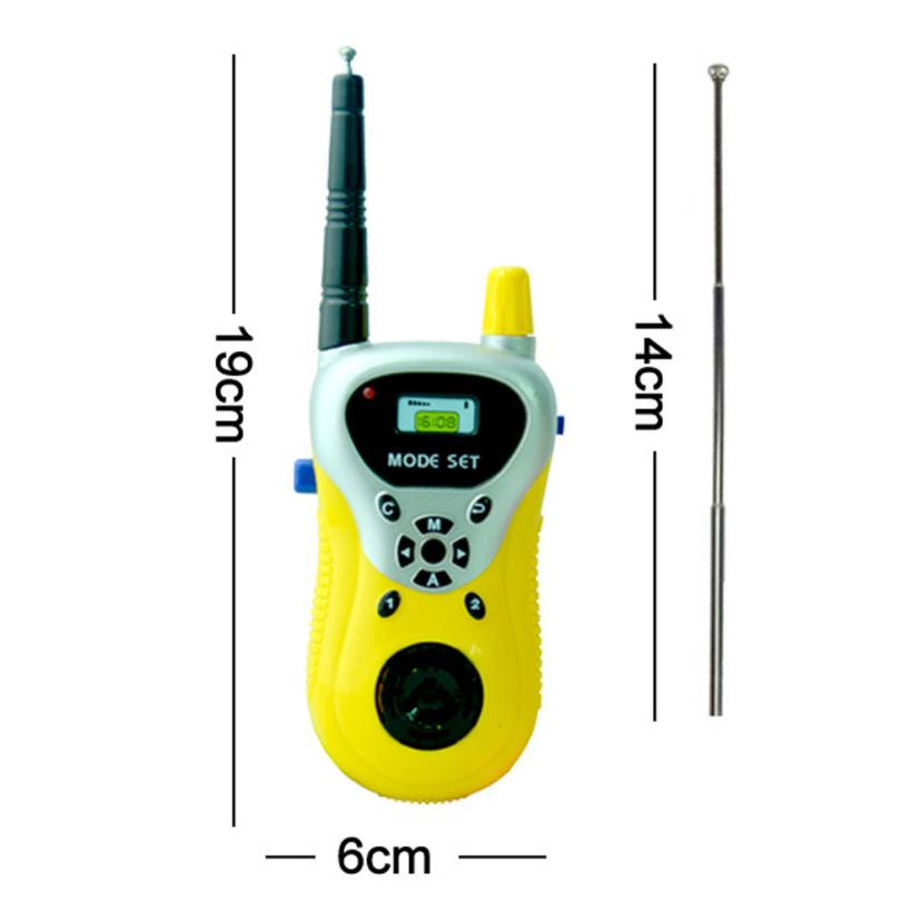 Wireless Walkie-talkie Radio Intercom Parent-Child Interaction Educational Toy 100% brand new and high quality Education Toy