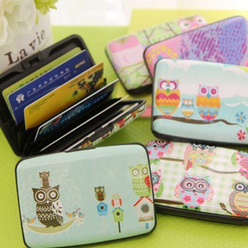 Korean manufacturers Owl organ card package Slim lovely ladies Multi-card bit Card packs Bus card storage