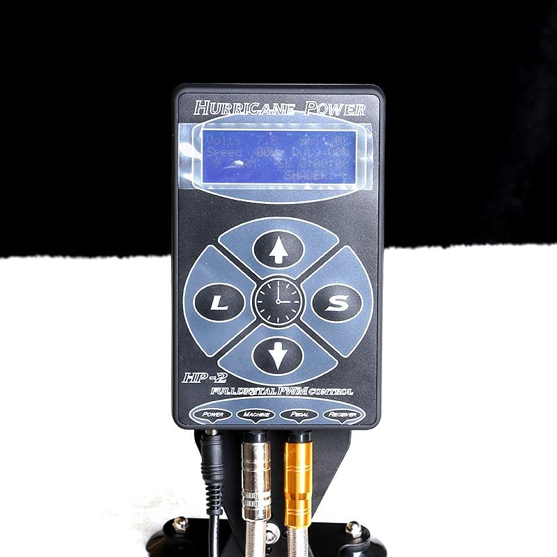 High Quality Tattoo Power Supply Digital Power LCD Display Black Silver White For Kits Machine Tubes