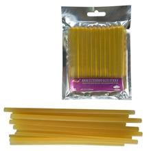 Hot-Melt-Glue Glue-Stick Yellow 12pcs/Lot Transparent-Color High-Quality Adhesive-Rod