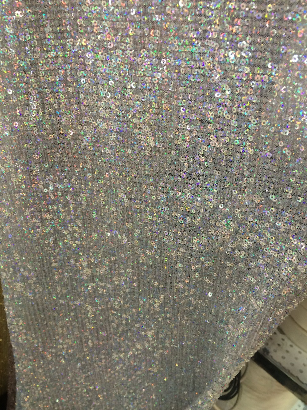 New Arrival African Sequins Fabric LJY 82751 For Nigerian Wedding Dress Hot Selling-in Lace from Home & Garden    3