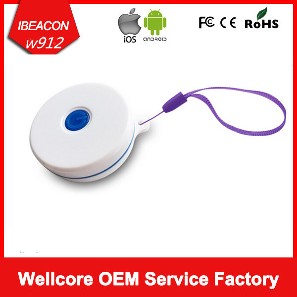 2016 Newest with Power Button and LED Light Nordic Ibeacon Waterproof Beacon Bluetooth Ibeacon