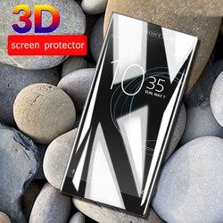3D изогнутое закаленное стекло для Sony Xperia XA1 Plus L3 10 XA2 Plus для Soni Experia XZ4 XZ3 Ultra XZ Premium XA 1 полное покрытие пленки