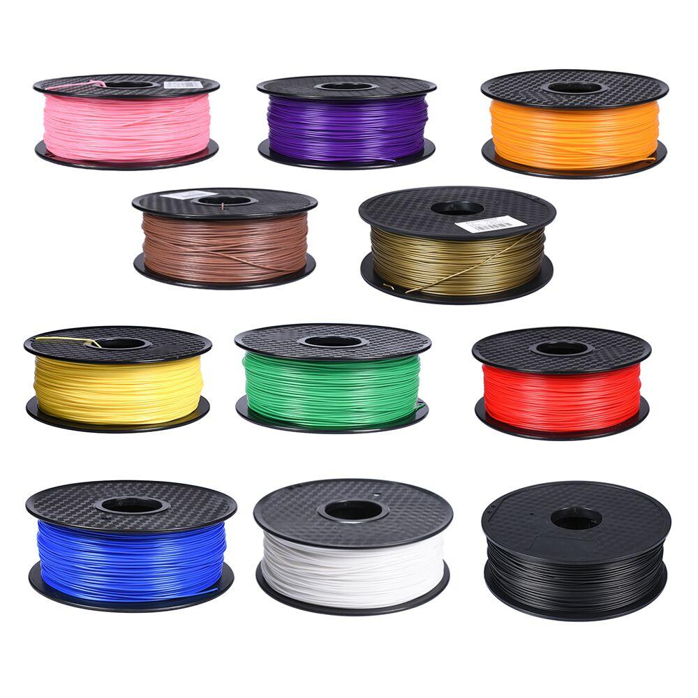 3D Printer Filament PLA 1.75mm 1kg 3D Printing Material For 3D Printer Pen Filament Extruder Plastic 24 Colors Consumable Reprap pla 1 75mm filament 1kg printing materials colorful for 3d printer extruder pen rainbow plastic accessories black white red gray