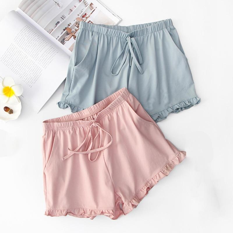 New Ladies Summer Shorts 100/% Jersey Cotton Womens Pants Lounge Beach Shorts