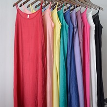 9 Colors Sexy Ladies Spaghetti Straps Woman Lingerier Slip Women Pure Silk Cotton Candy Color Full Slips