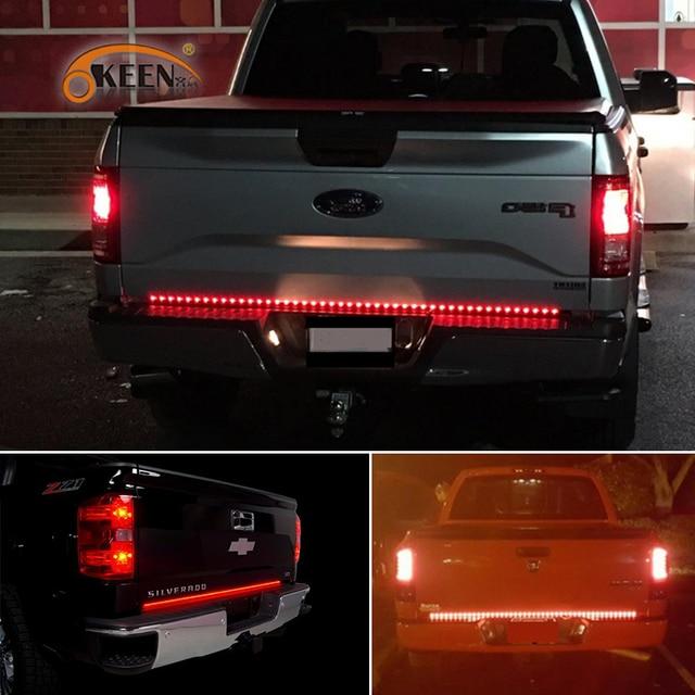 Okeen 60 inch led truck tailgate light bar strip red reverse brake okeen 60 inch led truck tailgate light bar strip red reverse brake stop turn signal parking aloadofball Images