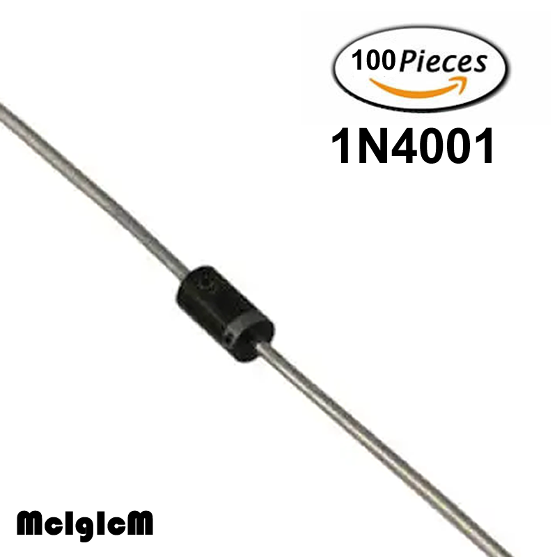 100PCS 1N4007 1A 1000V Diode 1N4007 IN4007 DO-41 Rectifie Diodes NEW
