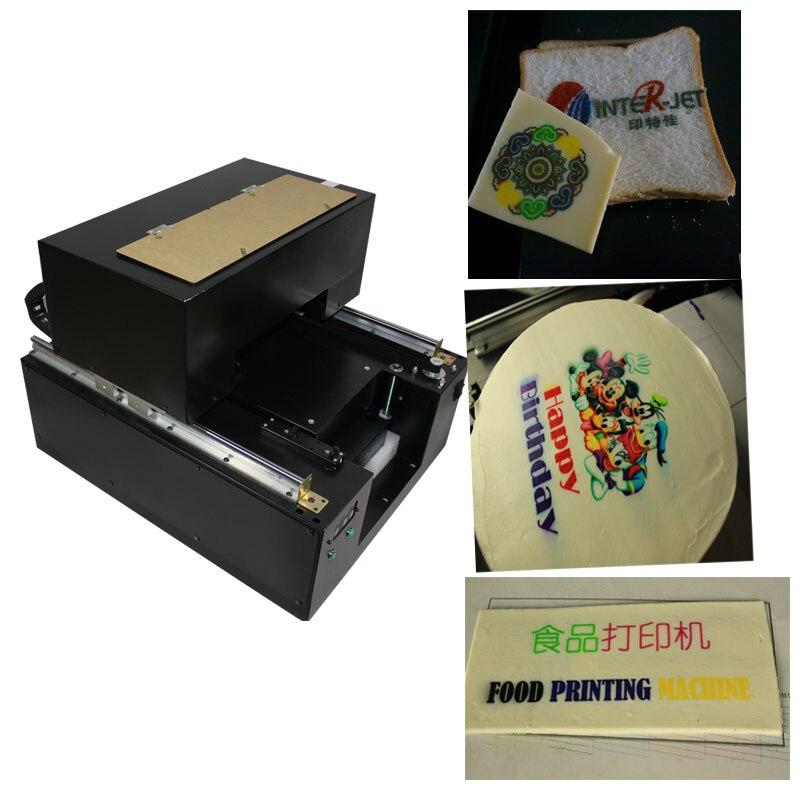 6色食品プリンタ用ラテcofee/ミリメートルキャンディーズ/チョコレートなど印刷