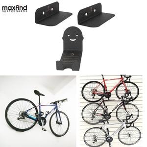 Image 1 - 100kg Capacity Bike Wall Mount Bicycle Stand Holder Mountain Bike Rack Stands Steel Hanger Hook Storage Bicycle Accessories
