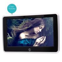 10.1 '' TFT LCD Wide Màn Hình Kỹ Thuật Số Xe Tựa Đầu Chơi Android 6.0 Đa Phương Tiện tựa đầu Màn Hình với IR/USB/SD/FM Chức Năng 2 Gam RAM