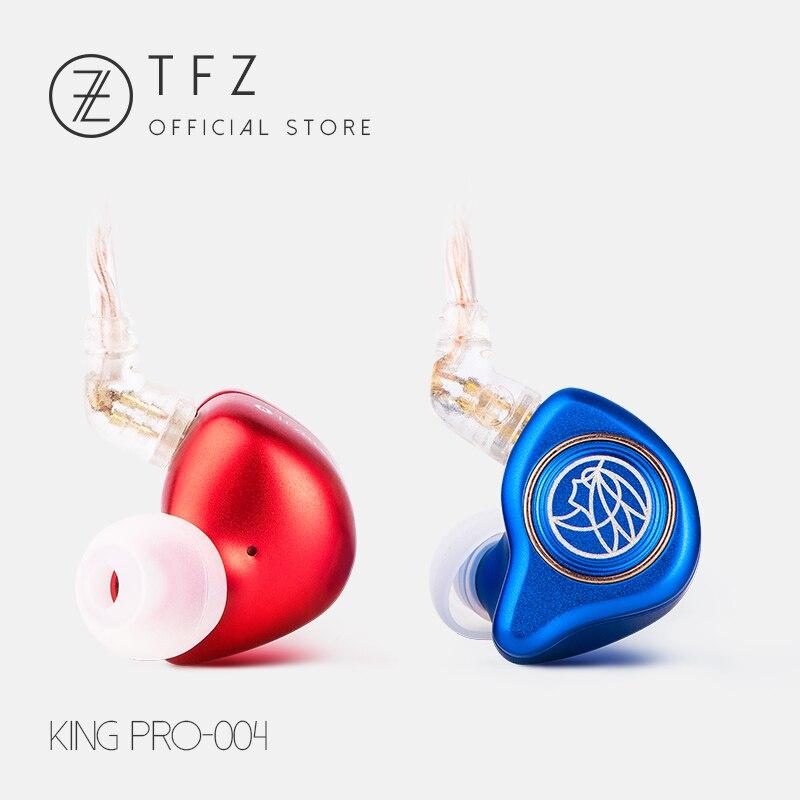 Le Parfumé Cithare/ROI PRO Neckband HIFI Moniteur Écouteurs, TFZ Dans L'oreille sport Hifi Écouteurs Basse Écouteurs En Métal écouteurs
