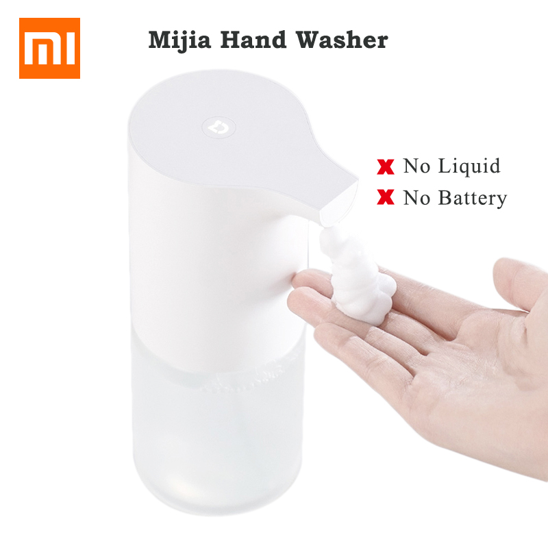 In Stock Original Xiaomi Mijia automatic Induction Foaming Hand Washer Wash Automatic Soap 0.25s Infrared Sensor For Smart Homes