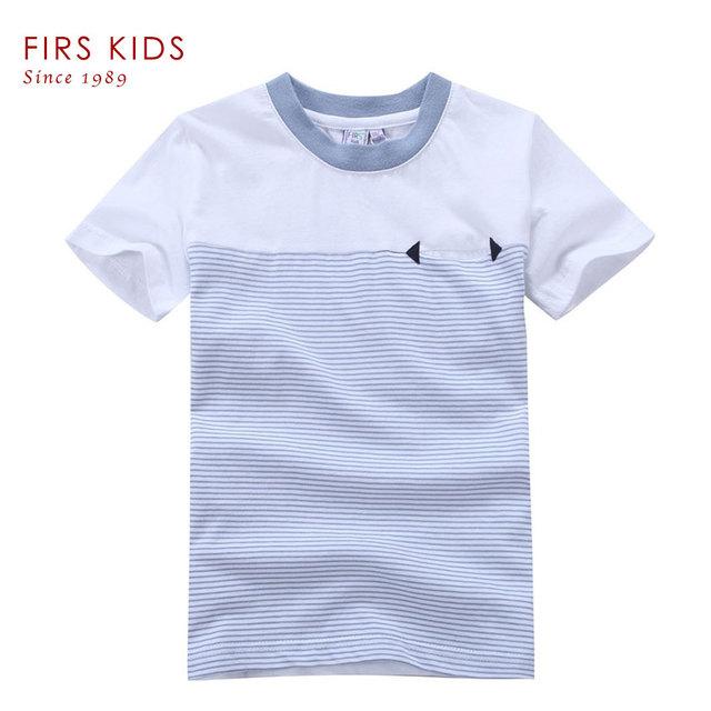 FIRS NIÑOS muchachos de la ropa y Los Niños camisetas Secuaces Ropa Niñas niños camisetas Niños de Manga Corta Ropa Del Bebé de Los Niños