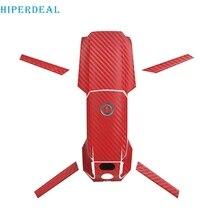 HIPERDEAL ПВХ углеродное волокно кожи пульт дистанционного управления тело Arm полный набор стикер s Водонепроницаемый Прохладный стикер для DJI Mavic 2 Pro/Zoom Drone