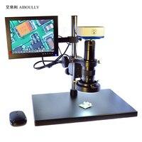 Aiboully 2 мегапикселя VGA Камера SD хранения электронный Микроскоп USB Выход включает в себя 8 дюйма Дисплей с Crosshair 0745 зум объектив