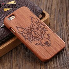 Kisscase Bamboo ca s e для iPhone 6 6 S plu S SE 5S ca s e натурального дерева 2 в 1 жесткий Защитный чехол для SAM S Унг S7 S6 S7 край