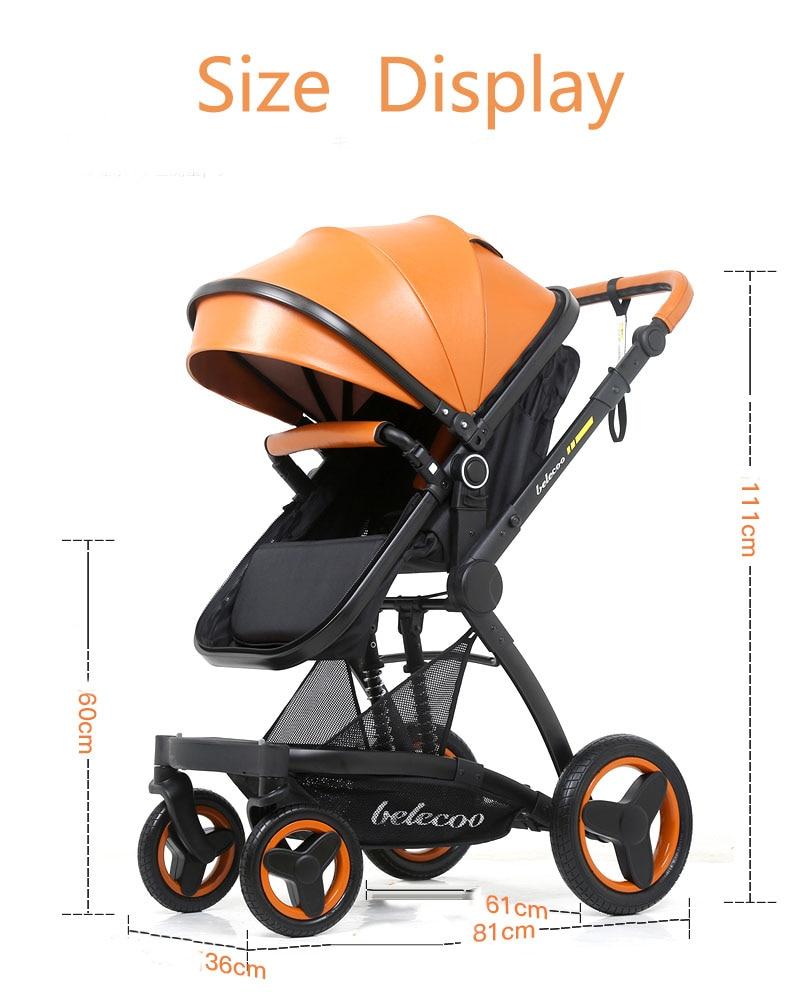 luxury baby stroller 3 in 1 (11)