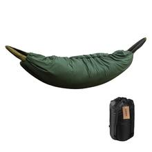 Acampamento multifuncional hammock saco de dormir underquilt leve acampamento colcha packable comprimento total sob cobertor