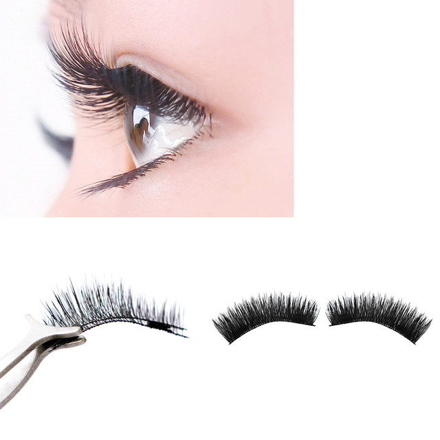 fb4483d4cf0 Dropship NEW thin 0.2mm Double Magnetic Eye Lashes 3D Mink Reusable False  Magnet Eyelashes Extension 3D magnetic eyelashes