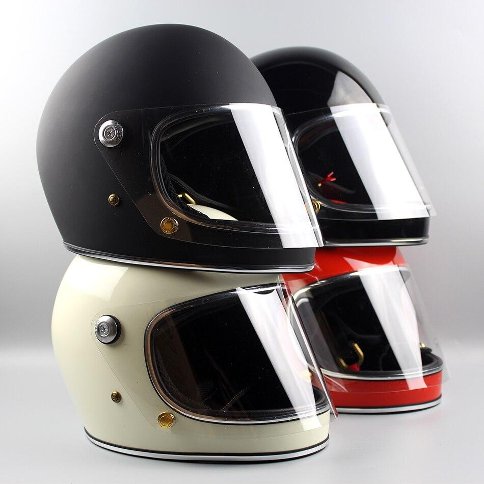 Importés moto casque TT & CO Japonais Thompson moto casque croisière Ghost Rider rétro TTD avec casque de sécurité de L'objectif
