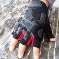 Специальные тактические перчатки супер техник открытый анти-резки противоскольжения защита от солнца уплотнения half-finger перчатки