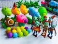 PVZ Растения против Зомби Игрушечное Ружье ПВХ Фигурку Модель Игрушки Подарки Игрушки Для Детей Высокого Качества Brinquedos