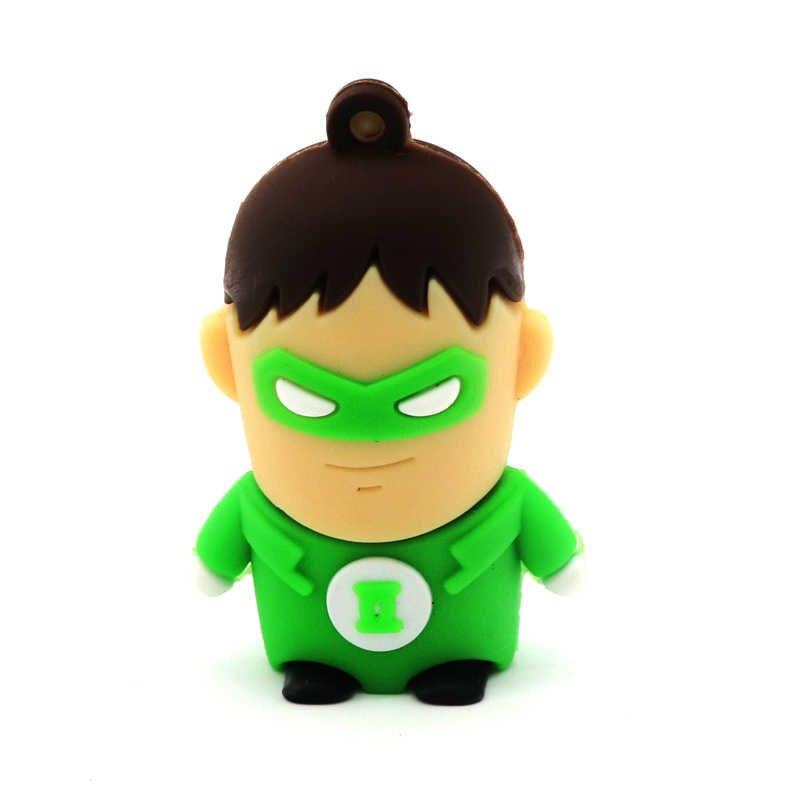 Super Heros śliczne USB flash napęd 32GB 64GB długopis 128GB wysokiej jakości U dysku 16GB 8GB 4GB śmieszne Pendrive Pendrive