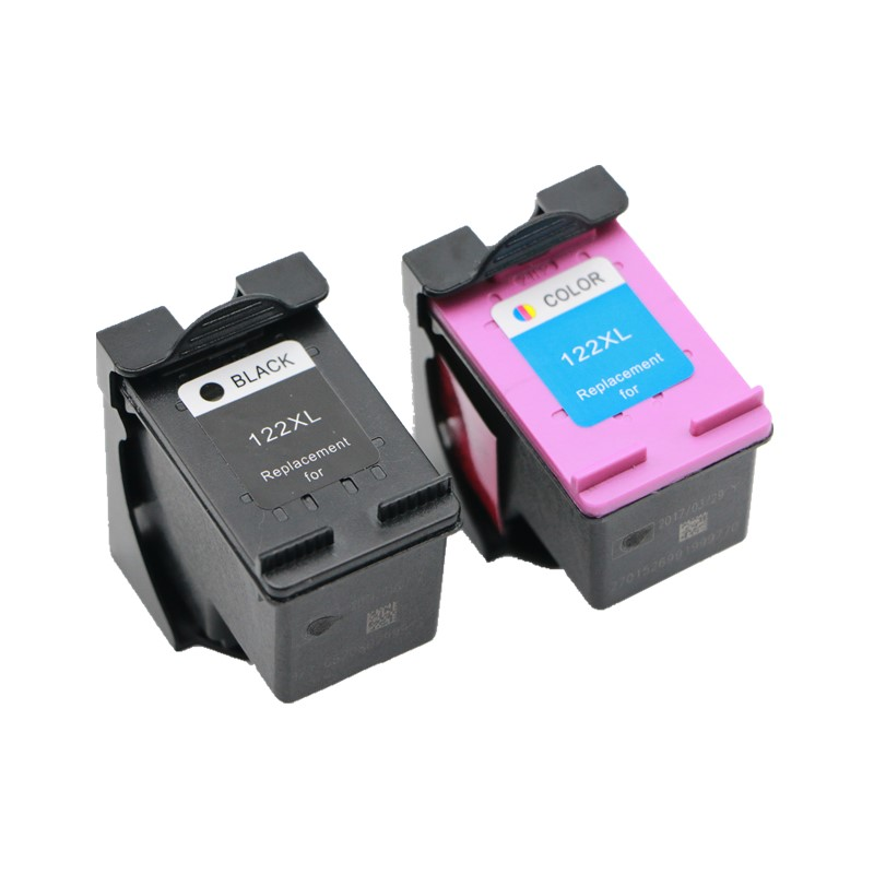 2 Piece Ink Cartridge For HP 122 122XL Ink Cartridge For HP Deskjet 1000 1050 1050A