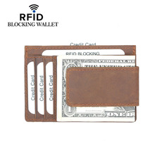 Wholesale New Genuine Leather Card Wallet For Men And Women Cowhide Business Holder Credit Purse Top Quality !
