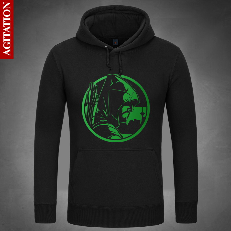 The Green Arrow Hoodies Hoody Pullover Sweatshirt Sweatshirts Outerwear Clothes Coat dc comics Amell
