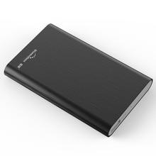 250GB Mobile HDD High-Speed USB 3.0 hard disk case black 2.5 inch Shockproof External Hard Drives for Desktop/Laptop