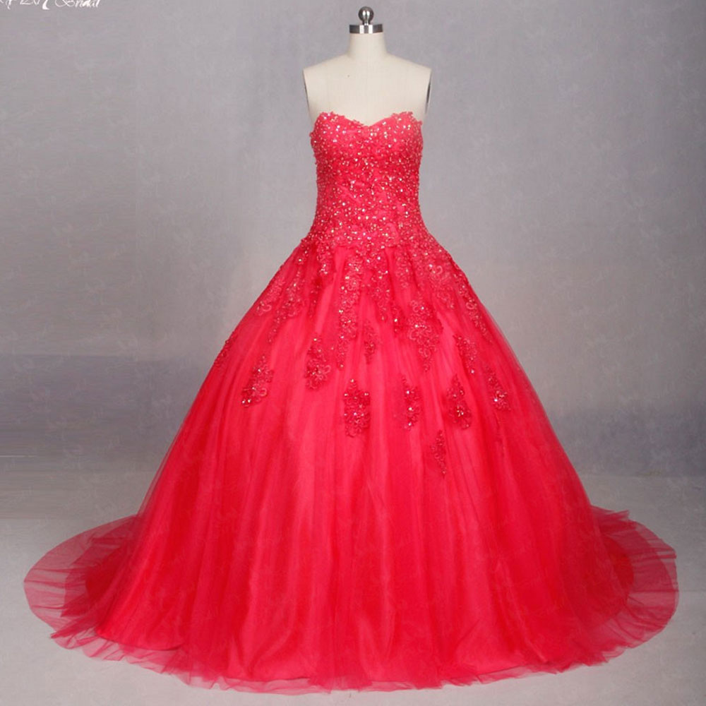 c26fa9fab6f Buy watermelon ball wedding gown and get free shipping on AliExpress.com