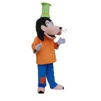 Marka yeni goofy köpek maskot kostüm fantezi dress yetişkin boyutu cosplay + cadılar bayramı