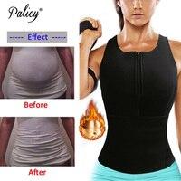 Palicy Neoprene Sauna Vest Body Shaper Slim Waist Trainer Fashion Fajas Girdle Workout Shapewear Adjustable Sweat