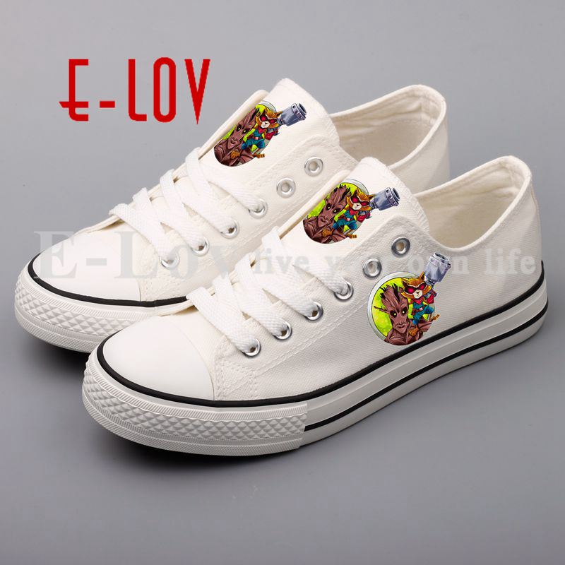 E-LOV 3D Printed TheLow Top Women Canvas Shoes Customized Valentine Couples Lovers Flat Casual Shoe e lov women casual walking shoes graffiti aries horoscope canvas shoe low top flat oxford shoes for couples lovers