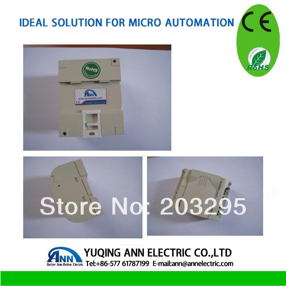 PLC programing AF-10MT-D2 with HMI ,12-24VDC, 6points DC input 4 points transistor output(exuivalent NPN) plc srt2 od04