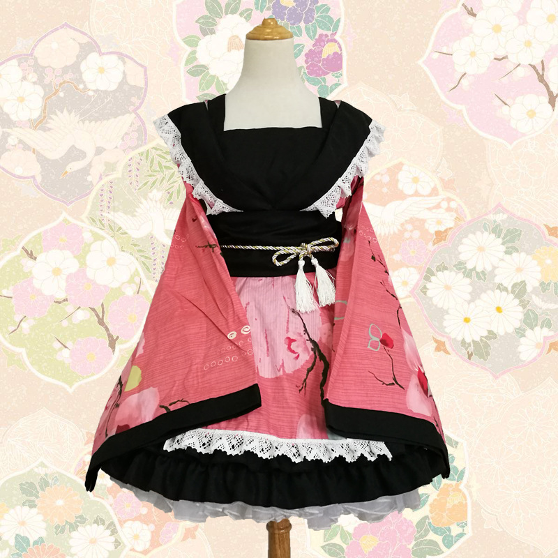 Buy lolita flower kimono cosplay and get free shipping on AliExpress.com 53992a6406c5