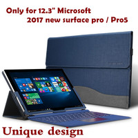 New Design High Quality Tablet Case For Microsoft New Surface Pro 5 Pro5 12 3 2017