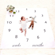 Baby Blankets Cute Floral Newborn DIY Photography Background Props Blanket Infant Swaddle Wrap Bed Crib Quilt Kids Bathing Towel