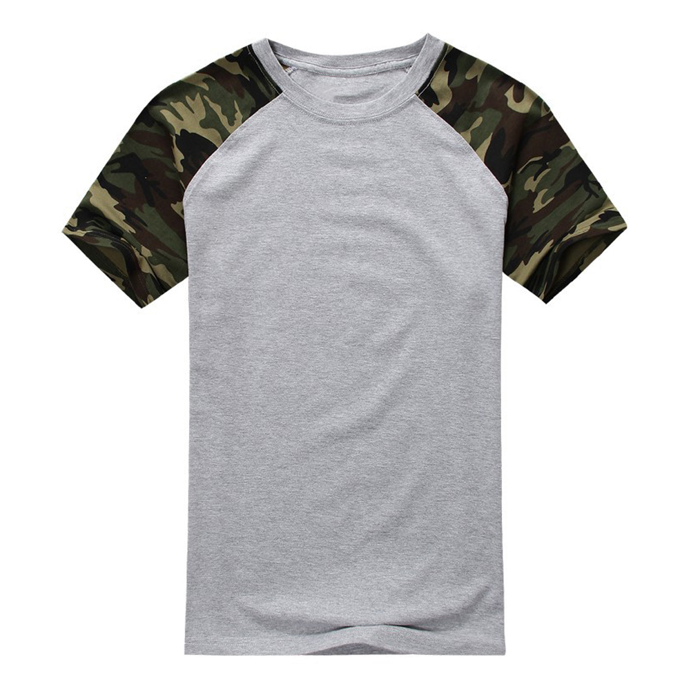 man casual camouflage t shirt men cotton arm combat t shirt military camo camp mens tees army. Black Bedroom Furniture Sets. Home Design Ideas