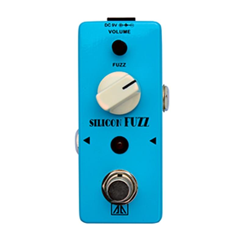 Silicon Fuzz Effect Pedal AA Series Vintage silicon transistor fuzz Effects for Electric Guitar  Fuzz Volume Control True bypass guerlain помада жидкая la petite robe noire lip colour ink l140 conqueror 6 мл