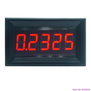 """New 0.36"""" 5 Digits 0-3.0000A/0-50.000mA DC Ammeter Digital Current Panel Meter Built-in Shunt(China)"""