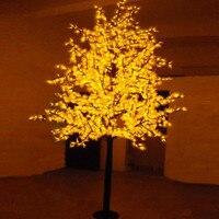 Бесплатная доставка светодио дный клен свет, 1,5 м 636 светодио дный s Водонепроницаемый IP65 светодио дный Рождественская елка свет, светодио дн