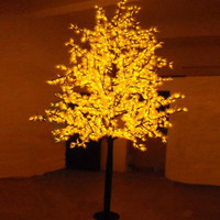Free Shipping LED maple tree light,1.5M 636Leds Waterproof IP65 Led christmas tree light ,led holiday light AC110 240V
