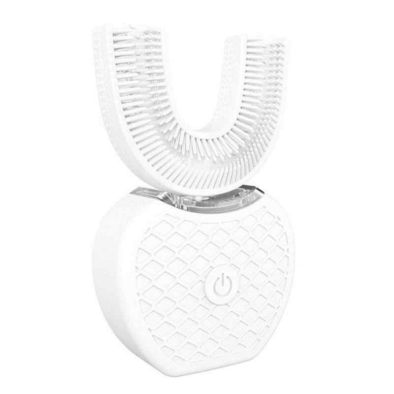 U-образная электрическая массажная зубная щетка Usb зарядка инструмент для отбеливания зубов может быть 360 градусов для чистки полости рта